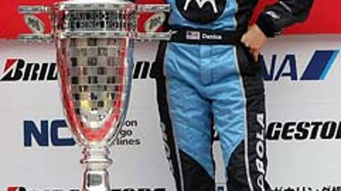 2008: Danica drives into the record book