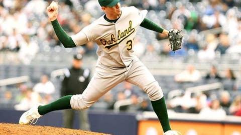 Brad Ziegler, RHP, Oakland Athletics