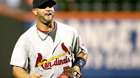 Can Albert Pujols win the triple crown?