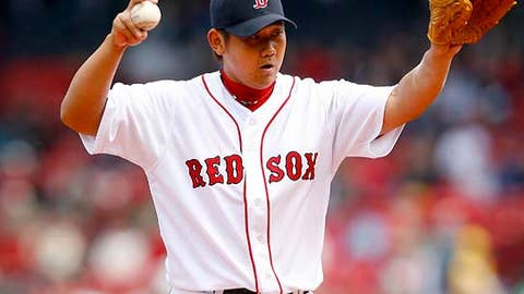 Daisuke Matsuzaka, Red Sox