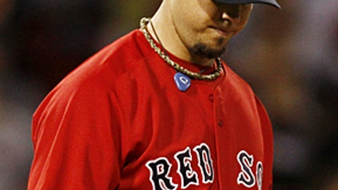 Slowing down: Josh Beckett, Red Sox