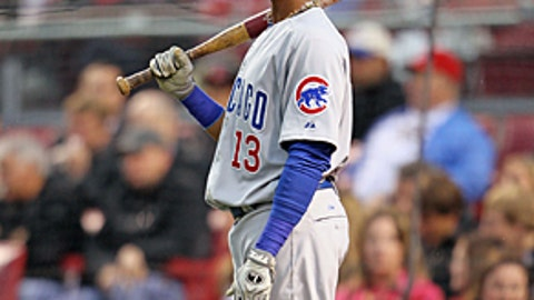 Speeding up: Starlin Castro, Cubs