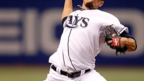 Speeding up: Matt Garza, Rays
