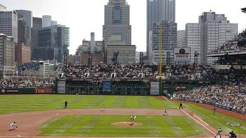 PNC Park, home to the Pittsburgh Pirates