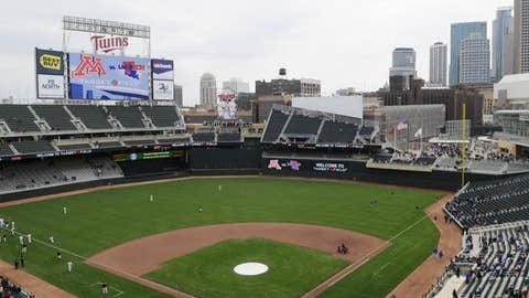 Target Field, home to the Minnesota Twins