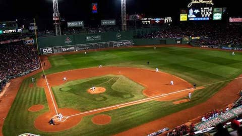 Fenway Park, home to the Boston Red Sox