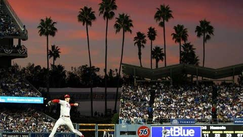 Dodger Stadium, home to the Los Angeles Dodgers