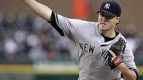 Speeding up: Phil Hughes, Yankees