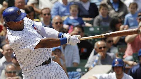 Speeding up: Marlon Byrd, Cubs