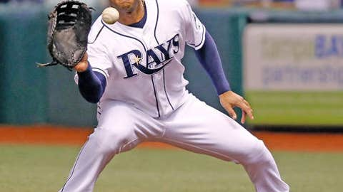 Slowing down: Carlos Pena, Rays