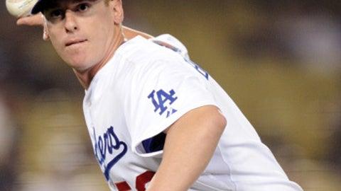 Speeding up: Chad Billingsley, Dodgers