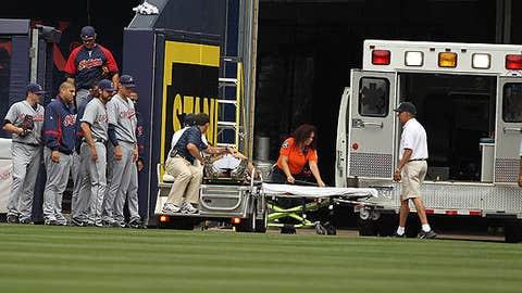 Ambulance arrives