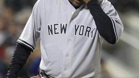 Slowing down: CC Sabathia, Yankees