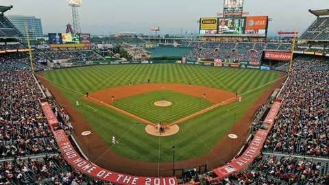 Angel Stadium, Anaheim, Calif.