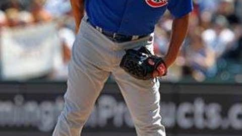 Slowing down: Carlos Zambrano, Cubs