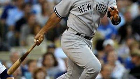 Slowing down: Jorge Posada, Yankees