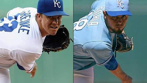 Zack Greinke & Joakim Soria, Royals