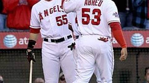 Bobby Abreu & Hideki Matsui, Angels