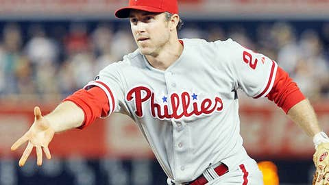 Chase Utley — Phillies, second baseman