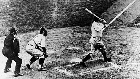 Babe Ruth — Game 3, 1932 World Series