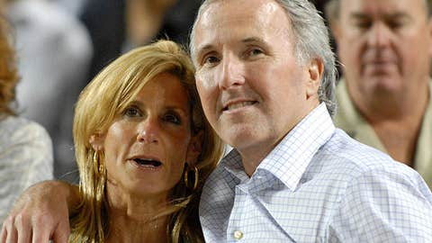 Frank McCourt and his wife Jamie McCourt