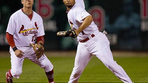 Slowing down: Pedro Feliz and Brendan Ryan, Cardinals