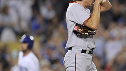 Slowing down: Barry Zito, Giants