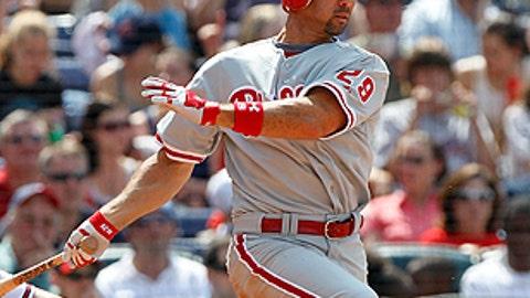 Slowing down: Raul Ibanez, Phillies