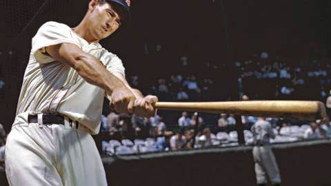 Ted Williams goes four it (1946)