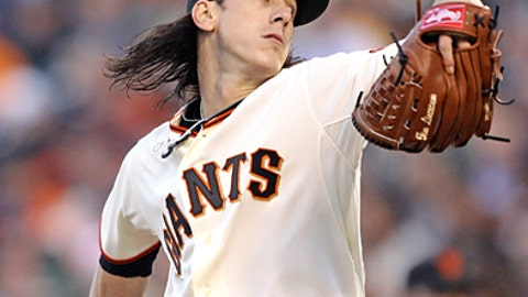 Speeding up: Tim Lincecum, Giants
