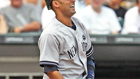 Slowing down: Deter Jeter, Yankees