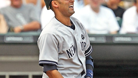 Slowing down: Deter Jeter, Yankees