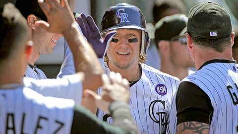 Speeding up: Troy Tulowitzki, Rockies