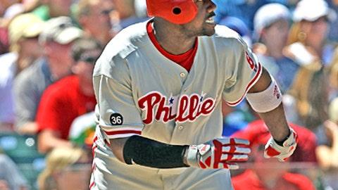 Speeding up: Ryan Howard, Phillies