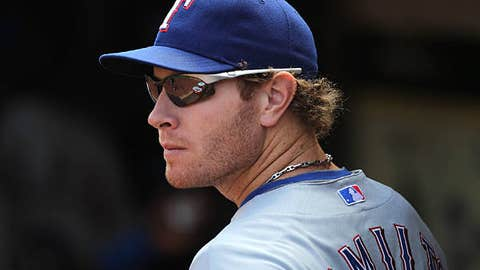 Slowing down: Josh Hamilton, Rangers