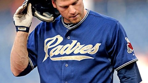 Slowing down: Chase Headley, Padres