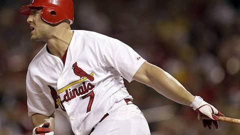 Speeding up: Matt Holliday, Cardinals