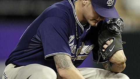 Slowing down: Mat Latos, Padres