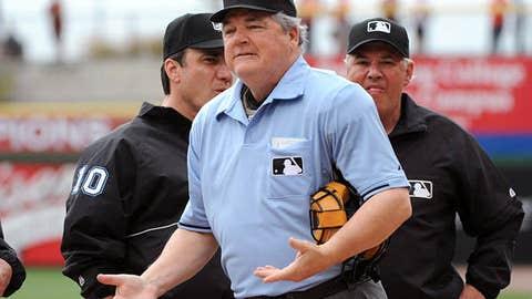 Jerry Crawford, MLB Umpire