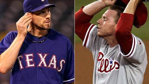 Rangers-Phillies