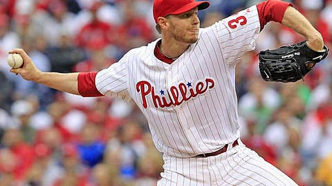 Right-handed starter — Roy Halladay, Phillies