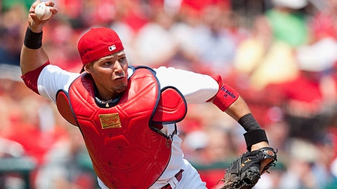 NL catcher: Yadier Molina, St. Louis Cardinals