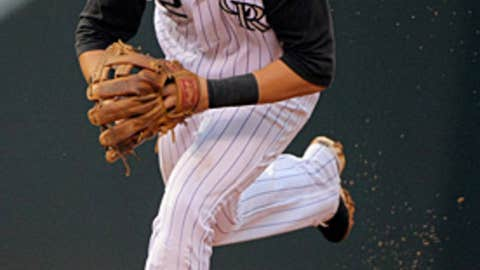 NL shortstop: Troy Tulowitzki, Colorado Rockies