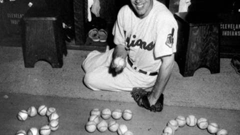 Bob Feller: Cleveland Indians (1936–1941, 1945–1956)
