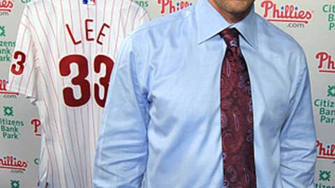 Cliff Lee — Phillies, starting pitcher
