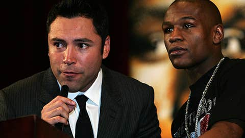 "Oscar De La Hoya and Floyd Mayweather Jr., ""24/7""; ""The Next Great Champ"""
