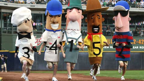 Famous Racing Sausages, Brewers