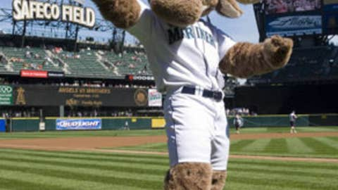 The Mariner Moose, Seattle Mariners