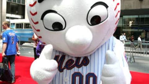 Mr. Met, New York Mets