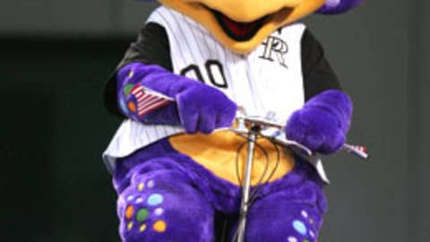 Dinger, Colorado Rockies